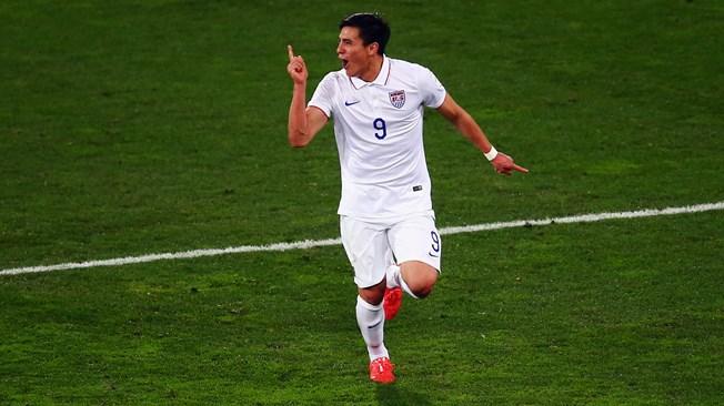 Rubio Rubin, gol de Estados Unidos, minuto 58, significó la eliminación de Colombia. Foto Getty Images /Fifa.com