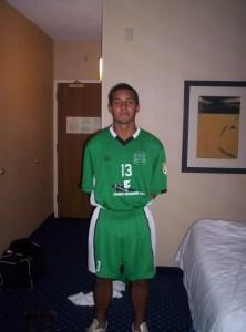 Santiago López Uribe jugó en las inferiores de Nacional antes de viajar al exterior para sus estudios universitarios.