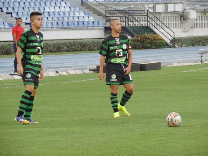 BARRANQUILLA. Antioquia dominó el primer tiempo y le marcó 3 tantos a Sucre. En la complementaria, Sucre le empató. Campeonato Nacinal Prejuvenil. Foto Liga de Antioquia