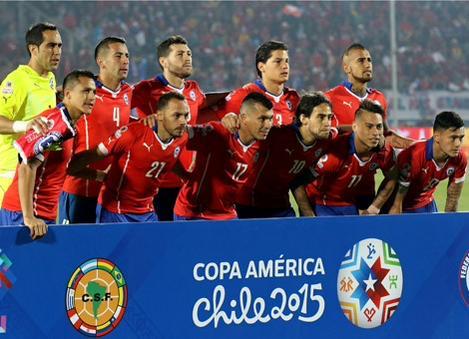 Chile campeón después de 36 participaciones en 7 torneos de anfitrión.