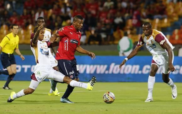 Frank Fabra estará en la formación. Y el Independiente Medellín alineará este miércoles (29) la pesada para enfrentar a Envigado, partido de vuelta de los octavos de final de la Copa Águila. Foto Juan Antonio Sánchez / El Colombiano.