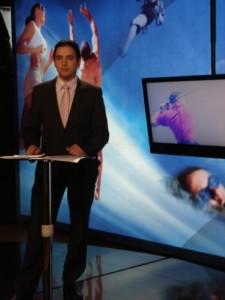 Fue presentador en NT24 Horas