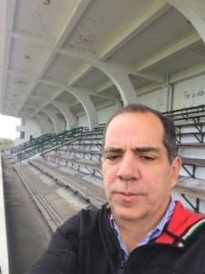 Luis Arturo Henao -De viajes permanentes a Bogotá para el programa Fox Sports Radio Colombia-