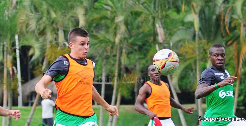 Nicolás Benedetti, debut con gol en Liga Águila, 18 años, cantera del Cali. Foto elpais.com