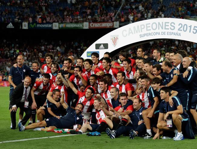 El Athletic conquistó la segunda Supercopa de España. Foto tomada de Mundo Deportivo