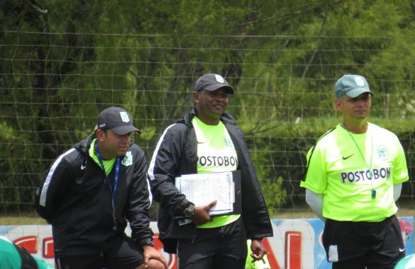 Preparador físico, asistente y técnico de Atlético nacional que espera este sábado (29) a Equidad Seguros en la novena fecha de la Liga. Foto página web Nacional