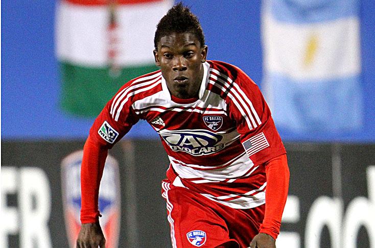 Sorpresiva convocatoria de un jugador de la MLS. Fabián Andrés Castillo Sánchez, caleño, 23 años. Debutó profesionalmente con el Cali en el 2010. En marzo de 2011 pasó al Dallas. Ha vestido la camiseta de Colombia Sub-17 en el Mundial de NIgeria y la Sub-20 en el Mundial de Colombia. En la MLS ha sido elegido jugador de la semana (abril). Es un extremo rápido, habilidoso. Foto El País.