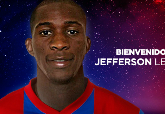 Así le da la bienvenida el Levante UD a Jefferson Lerma, centrocampista del Atlético HuilaJefferson Lerma.  Foto valencia.eldesmarque.com
