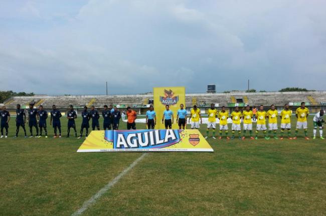 Muy fuertes Leones FC en su patio. Este domingo (2) venció a Dépor 1 x 0, gol de penal de David castañeda. Foto tomada de la página web de leones F.C.