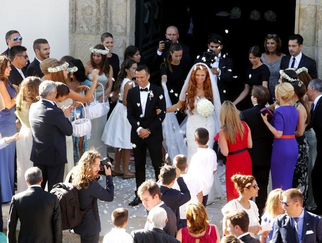 OPORTO: El registro social es que hoy se casó Jorge Mendes, el súper-agente del fútbol mundial. Cristiano Ronaldo en su condición de padrino le regaló una isla, sí así scomo se lee, una isla griega. Foto  (EDUARDO MARTINS -Mundo deportivo España.