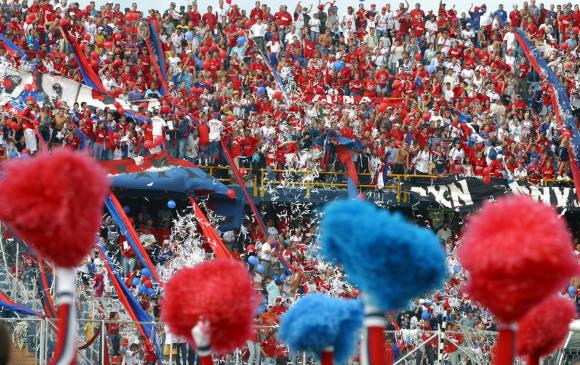 Así sea únicamente un encuentro para hinchas rojos, serán implementadas las mismas medidas de seguridad de otros clásicos. Foto Juan Antonio Sánchez / El Colombiano