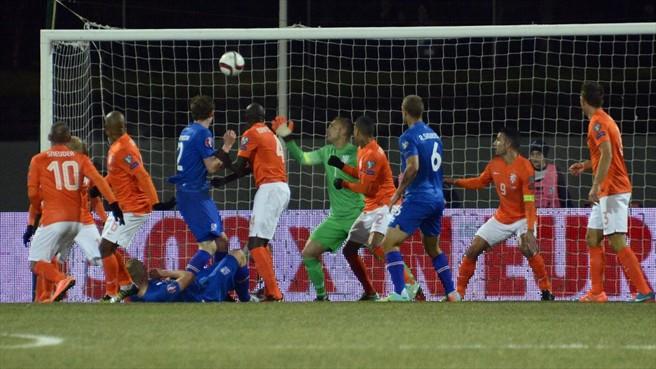 Islandia ganó por 2-0 a Holanda el pasado mes de octubre ©AFP/Getty Images /Tomada del portal de la UEFA