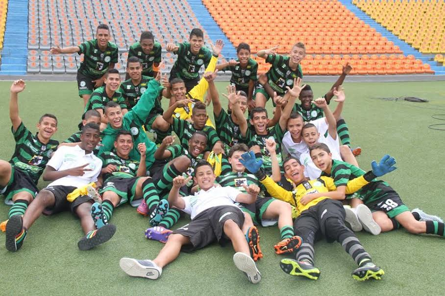 La Selección Antioquia, Infantil, por anticipado, se coronó campeona. Foto Comunicaciones LAF