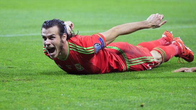 Gareth Bale celebra el pase de Gales. Foto  ©Getty Images /Tomada de la página de la UEFA