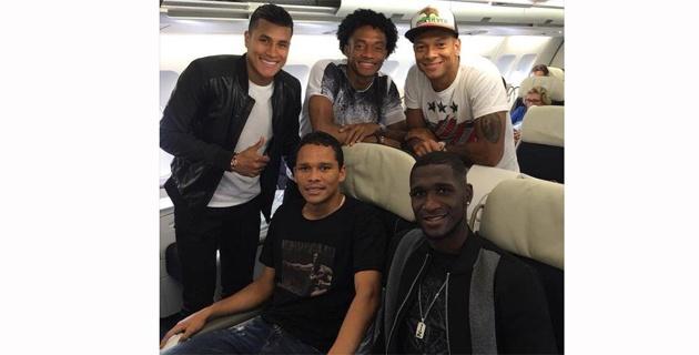 Comitiva italiana de Selección Colombia. Foto: Tomada de Goleador70