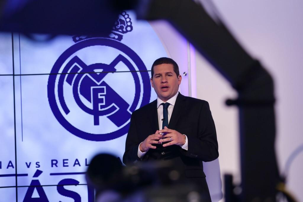 Alejandro Farffann en foto de imagen PR de beIN Sports para publicidad, agencias y promociones, 2014