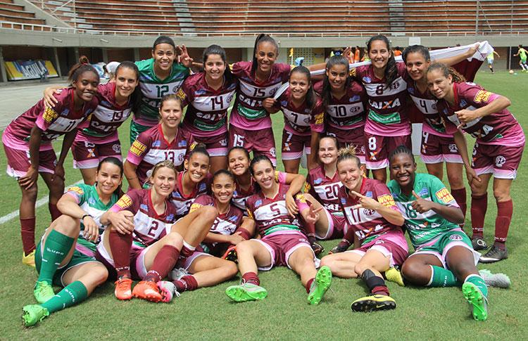 Ferroviaria por un gol dejó en el camino al campeón anterior, el equipo de San José, también de Brasil. Foto Conmebol