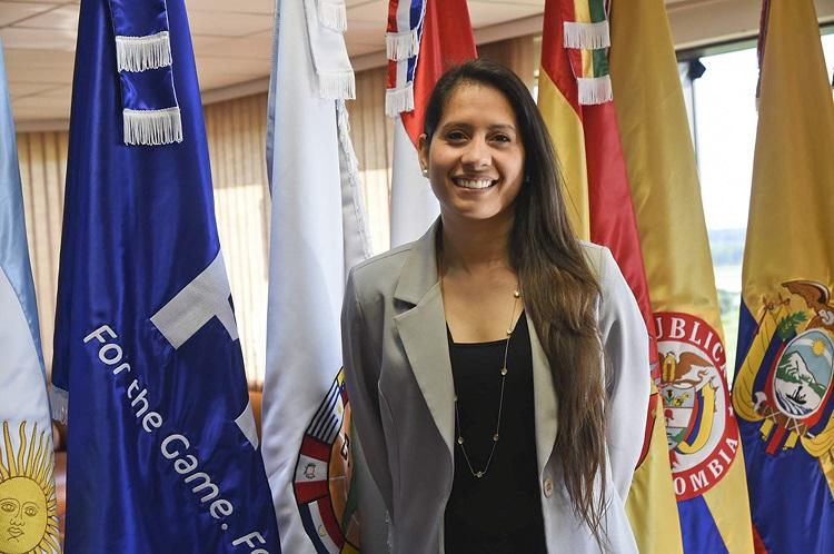 Lorena Soto . Foto Conmebol.com