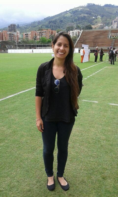 Lorena Soto , presente en la Copa Libertadores Femenina que organizó Medellín. Foto Carlos Julio Serna /Cápsulas