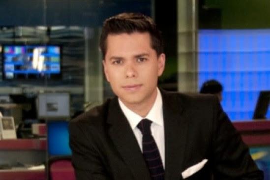Luis Carlos Vélez, actualmente con Telemundo, volvería a Colombia. Foto Kienyke