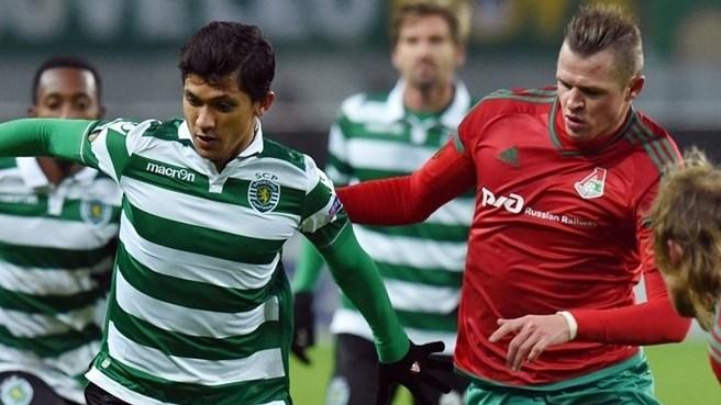 Fredy Montero marcó con el Sporting en Moscú. Foto  ©Getty Images  // Página  web UEFA