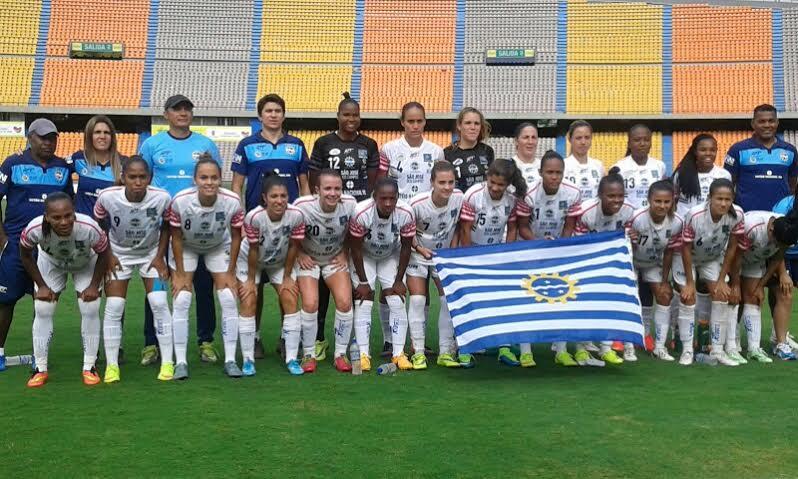 El equipo Sao José de Brasill goleó a Cerro Porteño 5 x 0. Foto Carlos Julio Serna