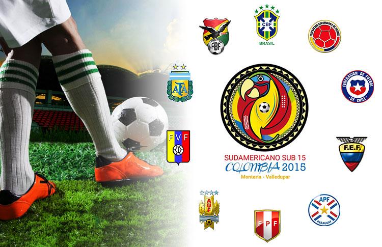 En Valledupar, sábado (21), empezará el Sudamericano Sub-15
