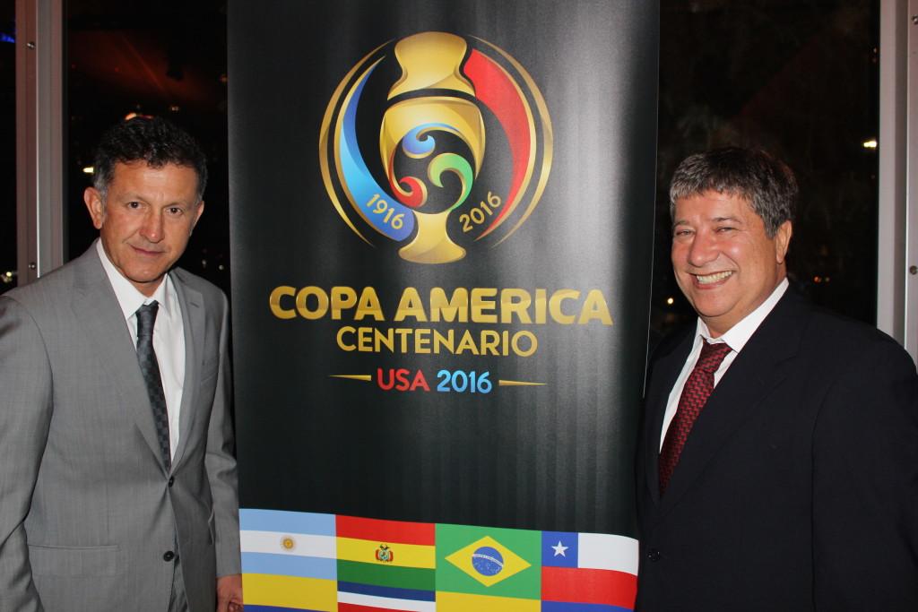 Seguimiento al sorteo de la Copa América Centenario