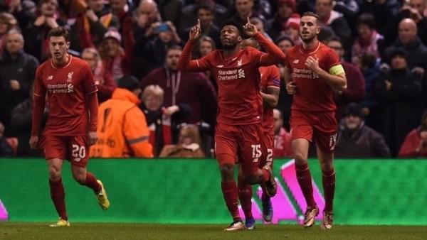 El Liverpool defenderá una importante ventaja en Old Trafford tras vencer con merecimiento al United 2-0. De Gea con cinco grandes paradas evitó una derrota más abultada. Foto tomada de la página web de la UEFA.