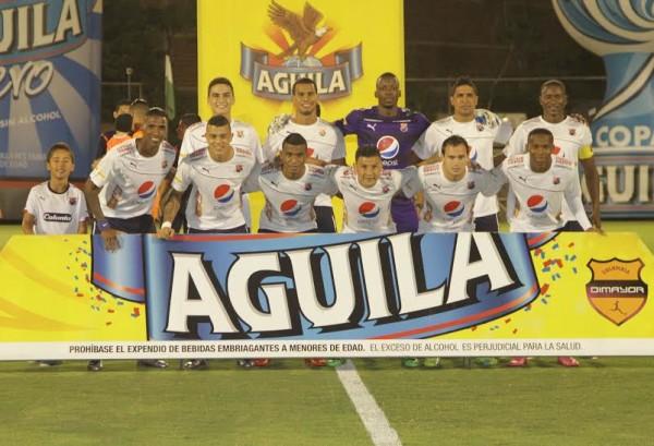 DIM no solamente aseguró su paso a la siguiente fase de la Copa Águila sino que goleó al inexperto Envigado 5x1. Foto tomada de la página oficial del DIM.