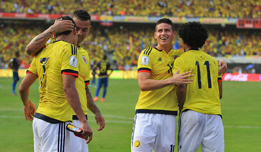 Los 23 de Colombia… 5 de Nacional…