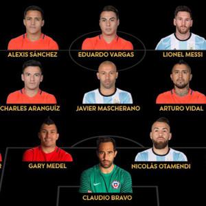 Ni un colombiano en el equipo ideal