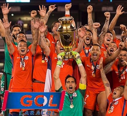 Rating final Copa América