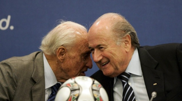 Blatter fue secretario general de la FIFA en la época de Havelange. Foto www.iusport.es