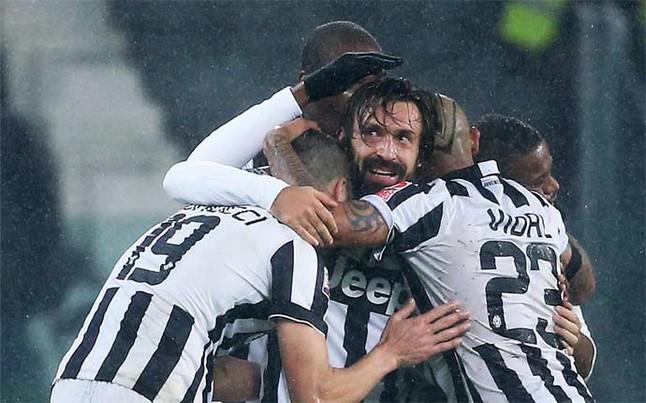 Pirlo jugó tres temporadas junto a Pogba en la Juventus Foto AFP, tomada del diario Sport.es