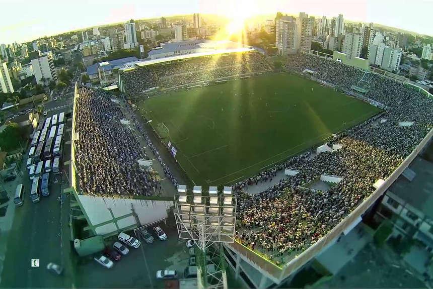Arena Conda / Olé / Conmebol.