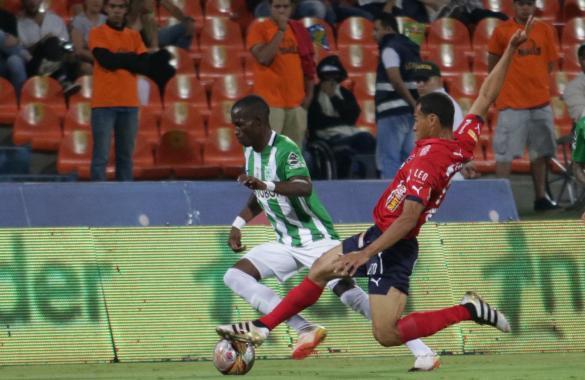 Clásico enredado, dos penales, taquilla roja. empate del DIM y Nacional a 2. Foto Atlético Nacional.