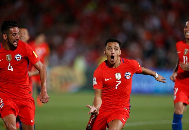 Chile, gran remontada ante Uruguay (3-1)