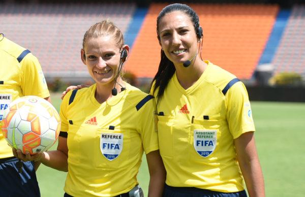 Zulma Quiñonez (Árbitra) y Luciana Mascaraña (Árbitra Asistente) - See more at: http://www.conmebol.com/es/fueron-convocadas-las-arbitras-de-la-copa-libertadores-femenina-2016#sthash.L6jZSjUq.dpuf
