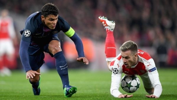 Arsenal, con David Ospina titular, y Paris Saint Germain con el empate lo dejaron todo para la última jornada en el grupo A. Foto tomada de la página web de la UEFA.