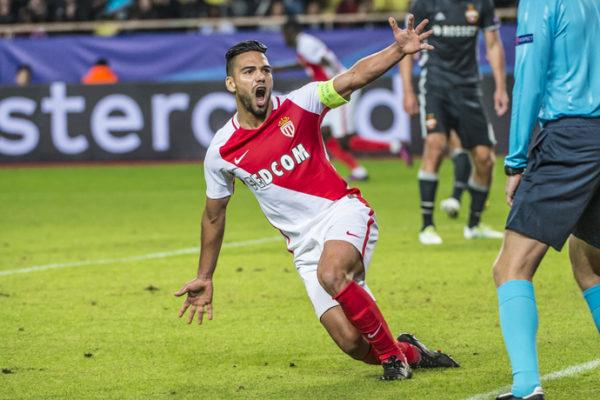 Con impaciencia, Falcao esperaba su regreso a la Champions y qué mejor con doblete frente al CSKA de Moscú. Jugó 74 minutos. Foto tomada de la página web del Mónaco.