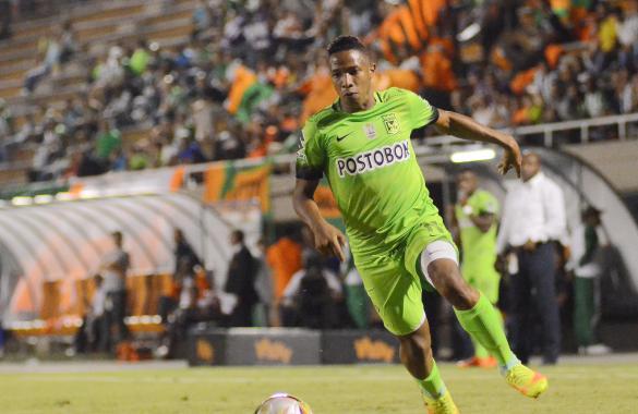 BARRANQUILLA. El de Andrés Ibargüen, minuto 32), la Copa para Nacional  El marcador debió ser más amplio. Foto Atlético Nacional.
