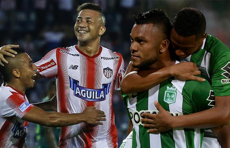 Junior-Nacional.  Así presentado por Conmebol.com