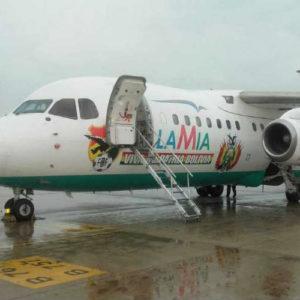Suspendieron los permisos de Lamia para volar (Diario Perfil)