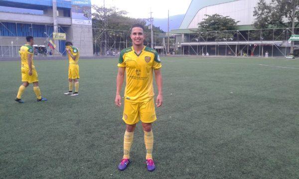 Darwin Santiago Rodríguez Vivas, autor del gol del título. Foto Carlos Julio Serna / Cápsulas.