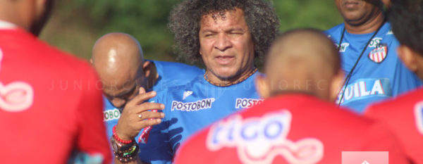 Atlético Junior, en la lista de equipo rico, pudo contratar 10 caras nuevas, incluyendo su técnico Gamero. Adelantarán la pretemporada en Paipa. Foto tomada de la página web del Atlético Junior.