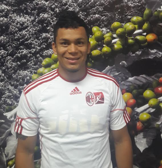 Gustavo Zapatam del Sabaneta Fútbol Club, vía Milan Academia, a prueba en el fútbol ecuatoriano.