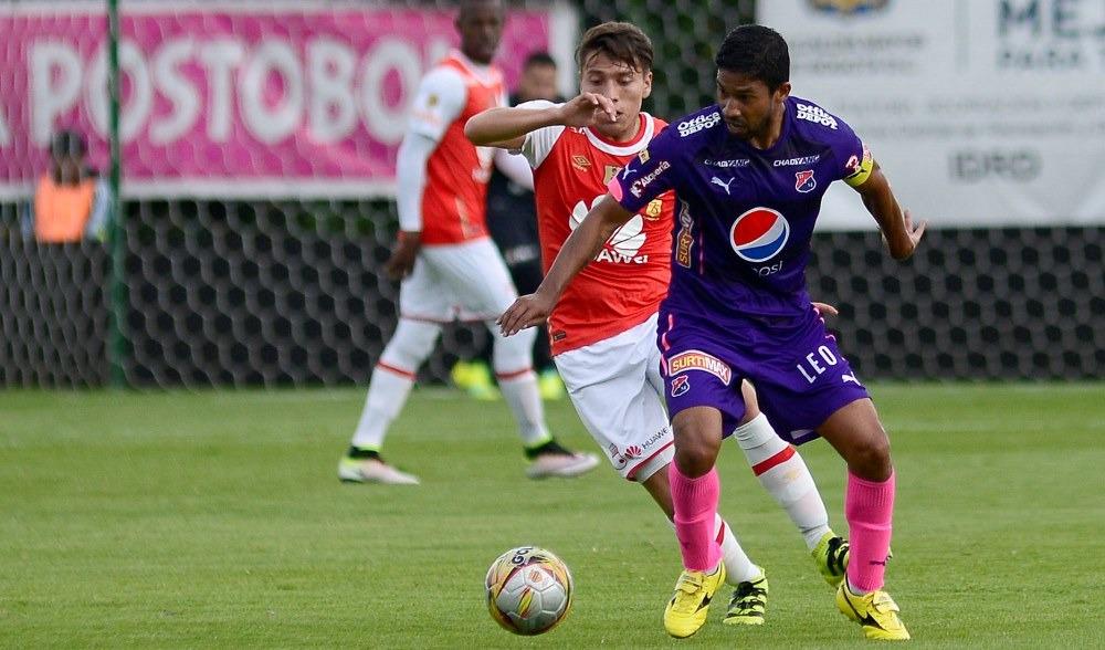 DIM 0-Santa Fe 0.  PUDO  PASAR  MÁS.  Por Wbeimar  Muñoz  Ceballos.