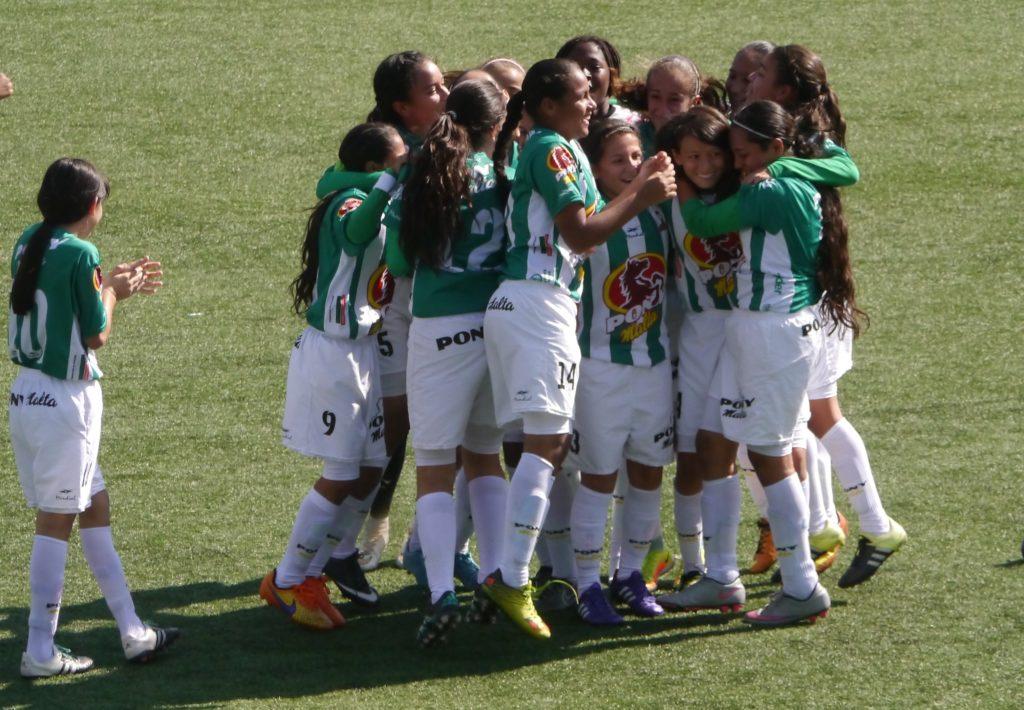 Atlético Nacional, tercer lugar en el Ponyfútbol femenino