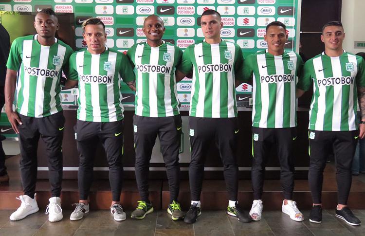 Los 6 nuevos jugadores de Atlético Nacional